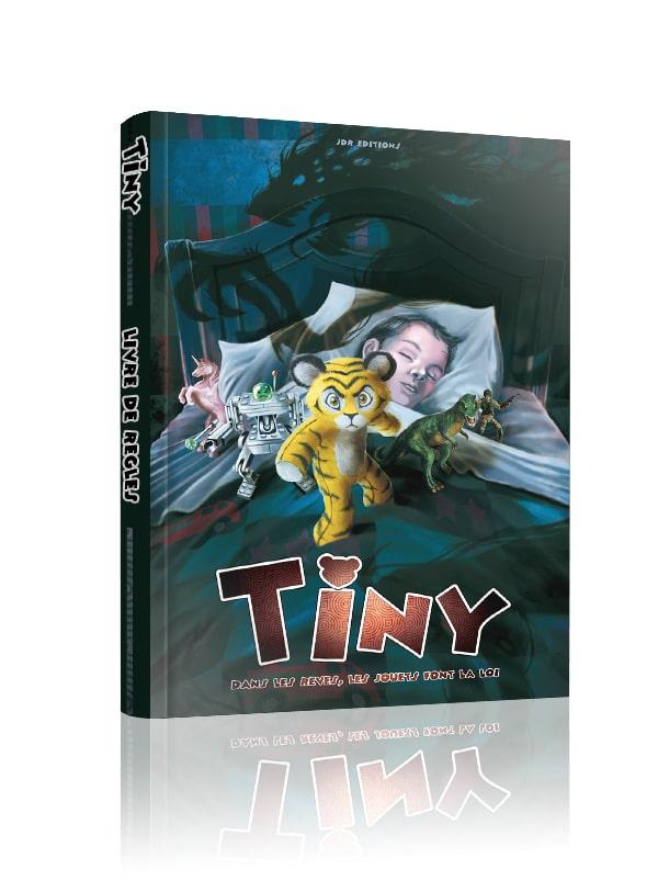 Livre de base pour le Jeu de rôle Tiny chez JDR Editions